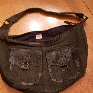Old Navy charcoal purse
